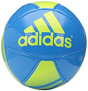 adidas Performance EPP Glider Soccer Ball, Solar Blue/Semi Solar Yellow, Size 4