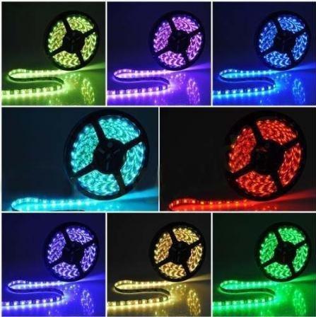 Rgb 500Cm 300 Leds 5050 Smd Flex Strip Waterproof 12V Light Bulbs Lamp Car House