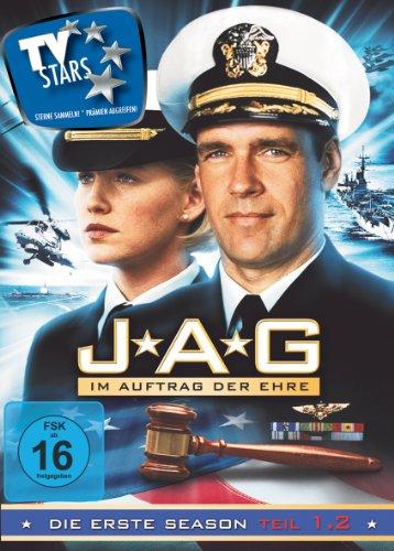 JAG - Im Auftrag der Ehre - Season 1.2 (3 DVDs)