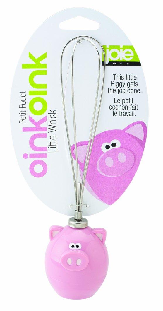MSC Joie Oink Oink - Varillas de batir, diseño con mango de cerdo, color rosa   Comentarios y más información