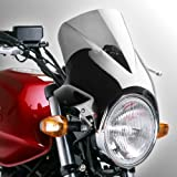 Fly screen Windy light smoke for Triumph Adventurer, Bonneville T100/ SE, Scrambler, Thruxton, Thunderbird, Trident 750/ 900