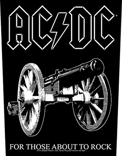 AC/DC For Those About To Rock Toppe schiena standard