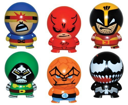 Marvel Heroes Buildables Vending Capsule Toys - series 2 - set of 6 - 1