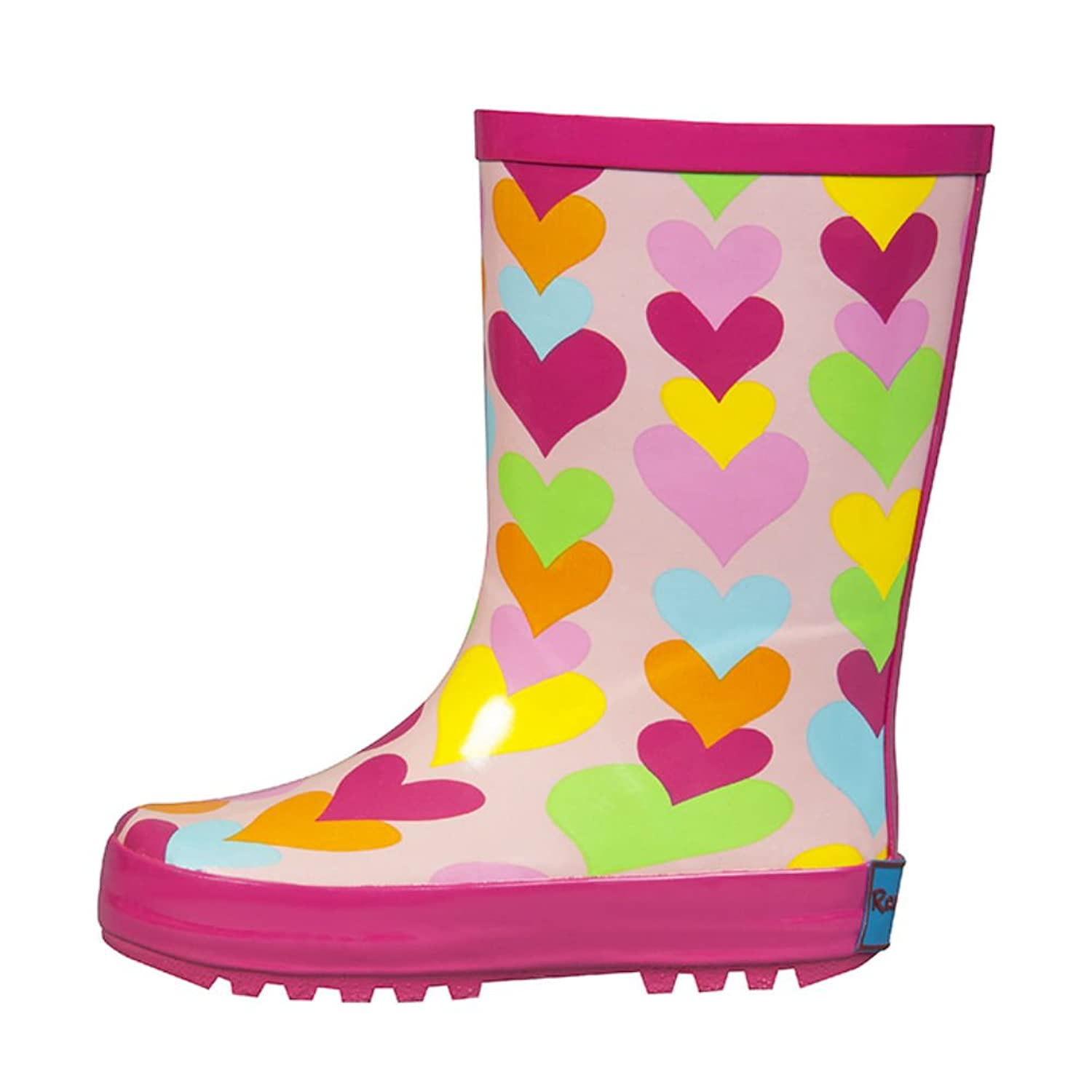 RanyZany Heart To Heart Boot-Rain Boots For Girls-Kids Rain Boots-Satisfaction Guaranteed rain
