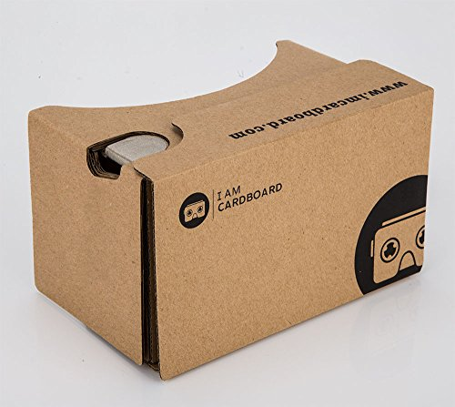 Check Out This v2.0 I AM CARDBOARD® VR CARDBOARD KIT - Inspired by Google Cardboard v2 (Box Color)