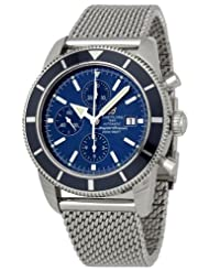 Discounted Breitling Men's A1332016/C758SS Blue Dial Aeromarine Superocean Watch USA Sale