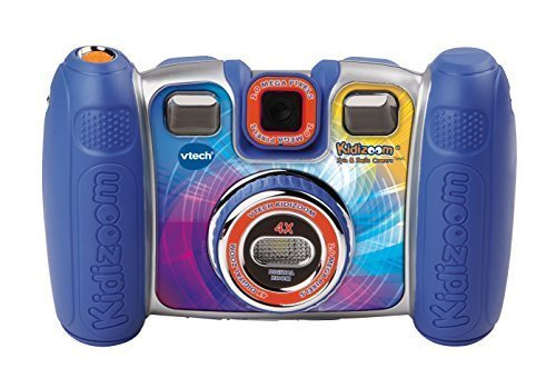 VTech Kidizoom Spin and Smile Camera - Blue (Kids Cameras Digital compare prices)