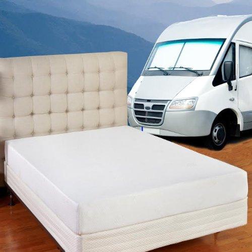 8 Inch Memory Foam Rv Mattress - Short Queen (60X75X8 Inches) Free Shipping