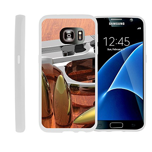 Case for Samsung Galaxy S7, Slim Glove like Skin with American Gun Collection | by Miniturtle® - Gun and Ammo