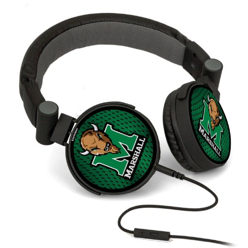 Ncaa Marshall Thundering Herd Dj Style Headphones