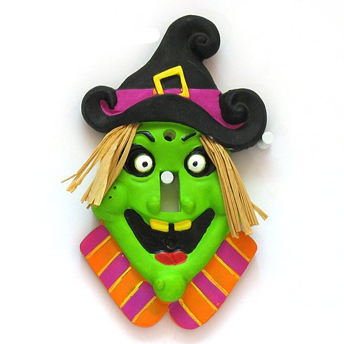 Witch Light Switch Cover, 1 pc(s) - 1