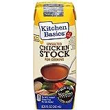 Kitchen Basics No Salt Stock, Chicken, 8.25 Ounce (Pack of 12)