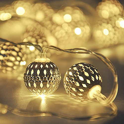 Cmyk-Battery-Operated-Silver-Moroccan-Orb-LED-Fairy-Lights-with-40-Warm-White-Leds-Ambiance-Lighting-Great-for-Indoor-Use-in-Party-Bedroom-Decor-4m