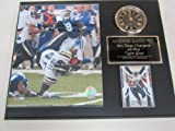 Antonio Gates San Diego Chargers Collectors Clock Plaque w/8x10 Photo and Card