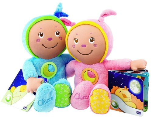 Chicco 37 cm Goodnight Sweetheart Musical Soft Toy (Pink)