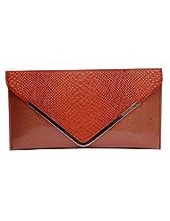 Womaniya PU Pink Handbag For Women(Size-28 Cm X 15 Cm X 3 Cm) - B00SJ1LL5A