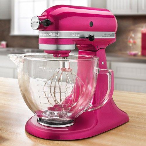 KitchenAid Artisan Design 5-Quart Stand Mixer, Raspberry Ice ~ Cheap ...