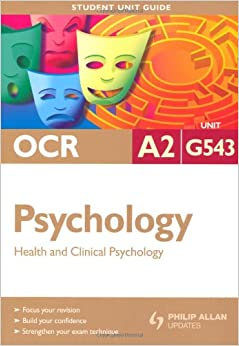 ocr a2 psychology coursework Mark rothery's biology web site: a2 ocr biology practical ocr in ocr, 5days please visit http: biology gcse biology coursework mark biology a - j - ocr ocr gcse twenty first century science suite biology ocr provides a full range of gcse, a level.