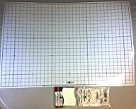 Battle Grid Game Mat, Dry Erase, Whit…