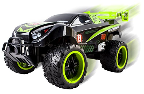 Thunder-Remote-Control-RC-Truck-Truggy-Car-Light-up-Wheels-Ready-to-Run-INCLUDES-RECHARGEABLE-BATTERY-116-Size-Toy-Green