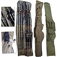 Carp Fishing Tackle Rod Holdall Bag For 3 Made Up & 3 Unmade Rods & Reels by Carp Corner
