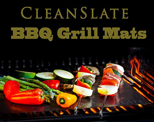 CleanSlate BBQ Non-Stick Grill Mats (Set of 2)