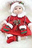 NPK Collection Mu�eca beb� reci�n nacido 18inch 45cm, mu�eca realista beb� reci�n nacido de juguete regalo para ni�as princesa juguetes para ni�os regalo de cumplea�os regalo de navidad