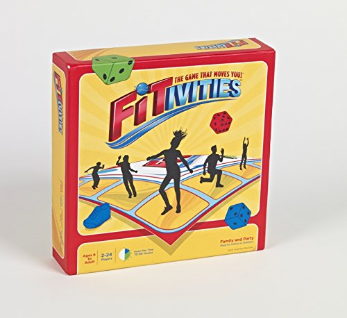 FITIVITIES – Small or Large Group Active Family Fitness/Party Game (Indoors or Outdoors)
