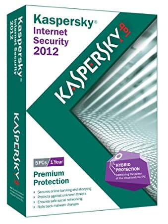 Kaspersky Internet Security 2012 - 5 Users