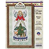 Jim Shore Winter Angel Counted Cross Stitch Kit