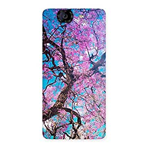 Cherry Blossoms Back Case Cover for Canvas Knight A350