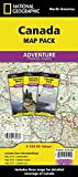 Canada [map Pack Bundle] (national Geographic Adventur...