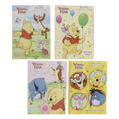 2pk Disney's Winnie the Pooh Coloring Book 96 Page - Assorted - 1