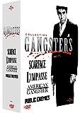 Collection Gangsters - Coffret - American Gangster + Scarface + L'impasse + Public Enemies