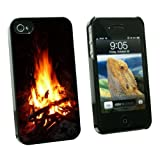 Graphics and More Campfire – Camp Camping Fire Pit Logs Flames – Snap On Hard Protective Case for Apple iPhone 4 4S – Black – Carrying Case – Non-Retail Packaging – Black Reviews