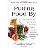 Putting Food By: Fifth Editionby Ruth Hertzberg