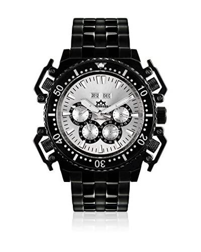 Hindenberg Reloj automático  Acero / Negro / Plata 45 mm