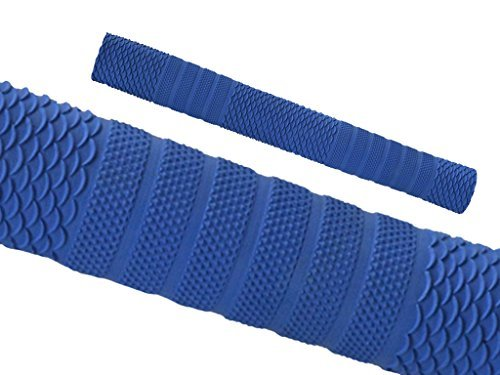 Cricket Schläger Griffe Rutschfest Ersatz Griffe Oktopus Spiral Design - Blau Stil S03