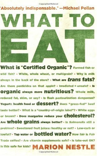 "Cover of ""What to Eat"""