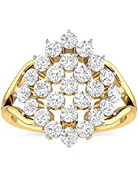 WearYourShine By PC Jeweller 18K Yellow Gold And Diamond The Dacey Ring
