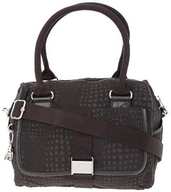 Kipling DOUBLE-UP SH BAG Shoulder Bag Women's Black Schwarz (Black KM) Size: 30x22x18 cm (B x H x T)