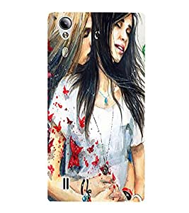 perfect print Back cover for Vivo Y15