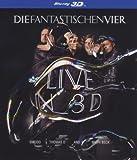 Die Fantastischen Vier - Live in 3D (2D + 3D Version)  [3D Blu-ray]