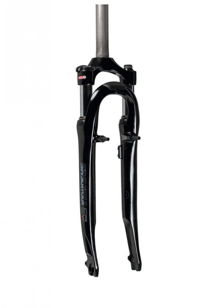 SR Suntour SF13 CR-8V mountain bike suspension forks SL 255mm, 1 A-Head black
