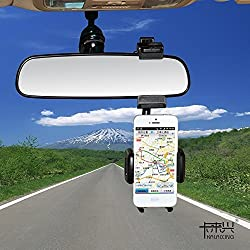 KaLaiXing Intelligent Universal Mobile Phone Holders Car Rear View Mirror Mount Holder For iPhone 6/6plus Samsung Galaxy S5 Note 3