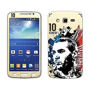 Bluegape Samsung Galaxy Grand 2 G7102 Karim Benzema Football Player Phone Skin Cover, Yellow