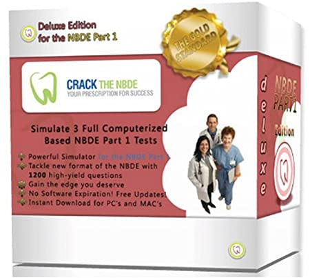National Board Dental Examination Part 1 - Crack the NBDE Digital Download (2012-2013 Deluxe Edition)