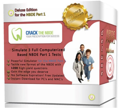 National Board Dental Examination Part 1 - Crack the NBDE (2012-2013 Deluxe Edition)