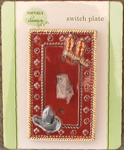 Wild West Cowboy Switch Plate - 1