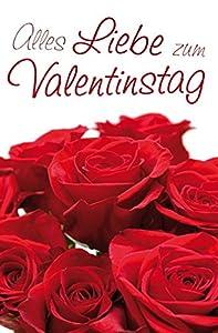 Grußkarte Alles Liebe zum Valentinstag - LIEFERUNG AM 14.02.2015